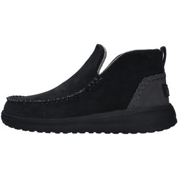 Zapatos Mujer Botas de caña baja Hey Dude 12203 NEGRO