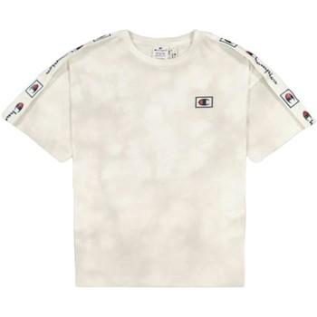 textil Mujer Camisetas manga corta Champion 114761 WL001 Blanco