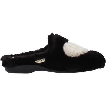 Zapatos Mujer Pantuflas Grunland CI2089 Negro