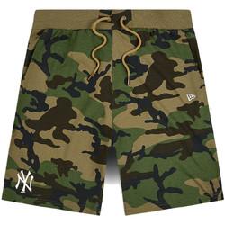 textil Hombre Shorts / Bermudas New-Era 12483685 Verde