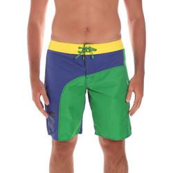 textil Hombre Shorts / Bermudas Ea7 Emporio Armani 902003 6P742 Verde