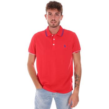textil Hombre Polos manga corta U.S Polo Assn. 38270 51711 Rojo