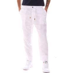 textil Hombre Pantalones Gaudi 911FU25018 Blanco