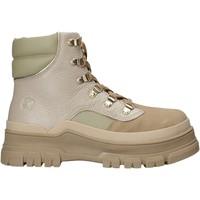Zapatos Mujer Botas de caña baja Apepazza F1SALLY10/TEX Beige