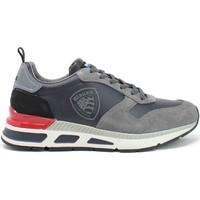 Zapatos Hombre Zapatillas bajas Blauer F1HILO03/LES Gris
