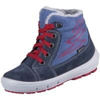 Zapatos Niños Botas de nieve Superfit Groovy Azul, Azul marino