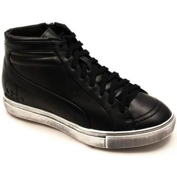 Zapatos Mujer Zapatillas altas Scalpers WH STUDS SNEAKER Negro