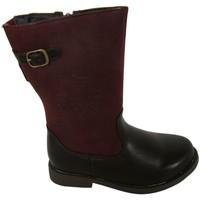 Zapatos Niña Botas de caña baja K-Tinni KAT5017-LM Rojo