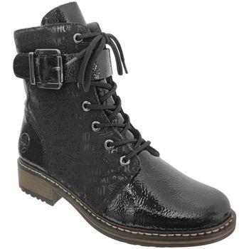 Zapatos Mujer Botines Rieker Z6802 negro