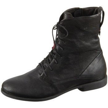Zapatos Mujer Botas de caña baja Think Agrat Negros