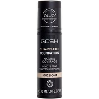 Belleza Mujer Base de maquillaje Gosh Chameleon Foundation Natural Coverage 001-light