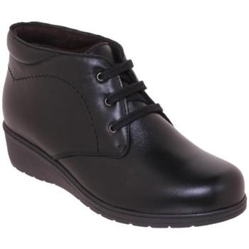 Zapatos Mujer Botas de caña baja Tupie Botines de mujer de piel by Noir
