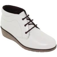 Zapatos Mujer Botas de caña baja Tupie Botines de mujer de piel by Blanc