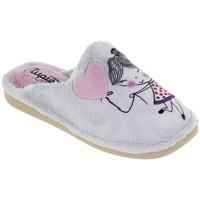 Zapatos Mujer Pantuflas Tupie Zapatillas de casa para chica by  Home Gris