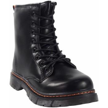 Zapatos Niña Botas de caña baja Bubble Bobble Botín niño  a3156 negro Negro
