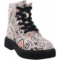 Zapatos Niña Botas de caña baja Bubble Bobble Botín niña  a3484 blanco Blanco