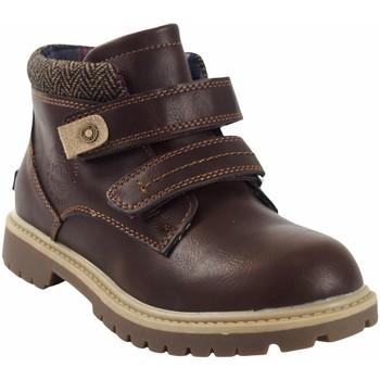 Zapatos Niño Botas de caña baja Bubble Bobble Botín niño  a3085 marron Marrón