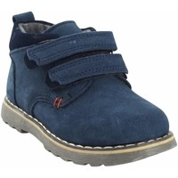 Zapatos Niño Botas de caña baja Bubble Bobble Botín niño  a2635 azul Azul