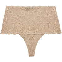 Ropa interior Mujer Tangas Underprotection RR1037 NUE Beige