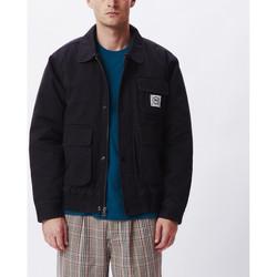 textil Hombre cazadoras Obey Coltrane jacket Negro