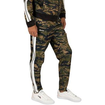 textil Hombre Pantalones con 5 bolsillos Ellesse PANTALON NIORO CAMO JOG  HOMBRE Verde