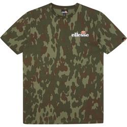 textil Hombre Camisetas manga corta Ellesse CAMISETA VOODOO CAMO  HOMBRE Verde