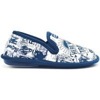 Zapatos Hombre Pantuflas Cosdam 1526 Azul