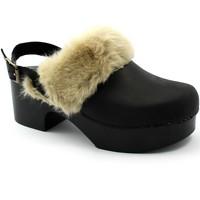 Zapatos Mujer Zuecos (Mules) Divine Follie DIV-I21-432-NE Nero