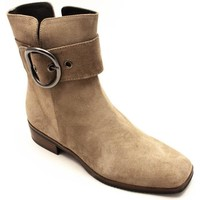 Zapatos Mujer Botines Plumers 5130 Beige