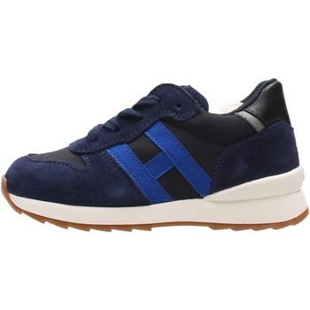 Zapatos Niño Zapatillas bajas Hogan - J484 blu/azzurro HXT4840CY50QB5884Z BLU