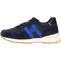Zapatos Niño Zapatillas bajas Hogan - J484 blu/azzurro HXC4840CY50QB5884Z BLU