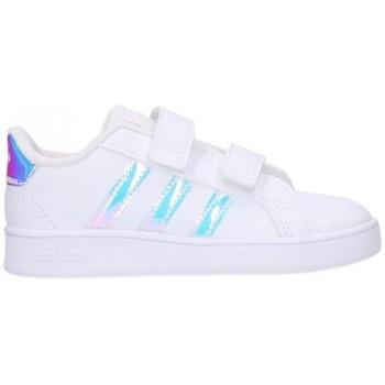 Zapatos Niña Deportivas Moda adidas Originals HW1276 B/PLATA Niña Blanco blanc