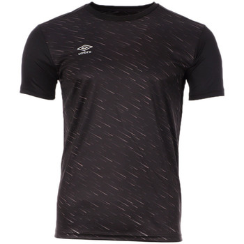 textil Hombre Camisetas manga corta Umbro  Negro