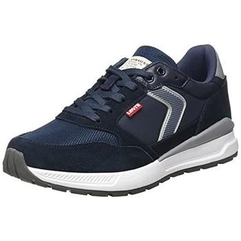 Zapatos Hombre Zapatillas bajas Levi's Strauss ZAPATILLA OATS SUEDE POLYEST LEVIS HOMBRE Azul