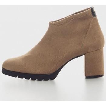 Zapatos Mujer Botines Kamome L1860 Marron