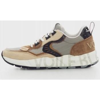 Zapatos Hombre Zapatillas bajas Voile Blanche CLUB01 Beige