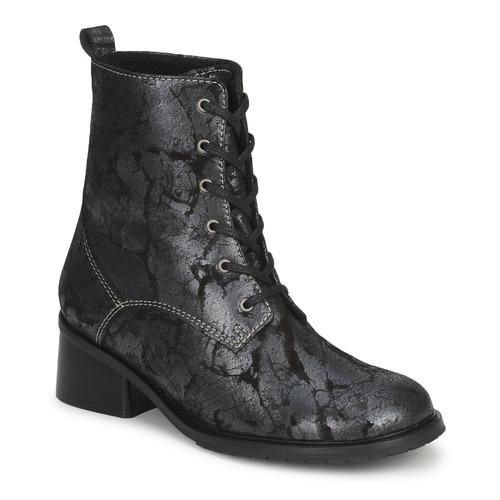 Zapatos Mujer Botas de caña baja Tiggers ROMA Negro