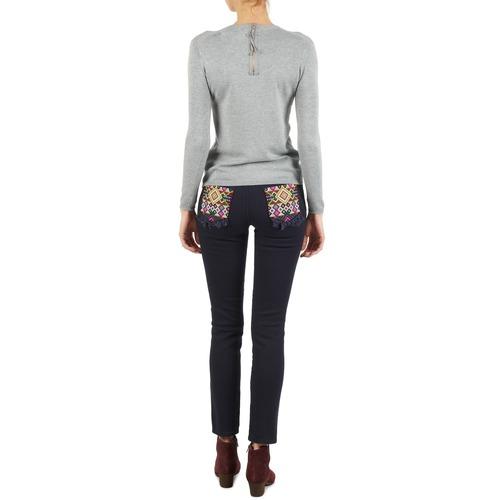 Textil Mujer Pantalones Pantalon Manoush Con 5 Cherokee Bolsillos Marino OiZPkwuXT