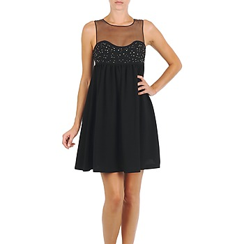 textil Mujer vestidos cortos Manoush ROBE ETINCELLE Negro