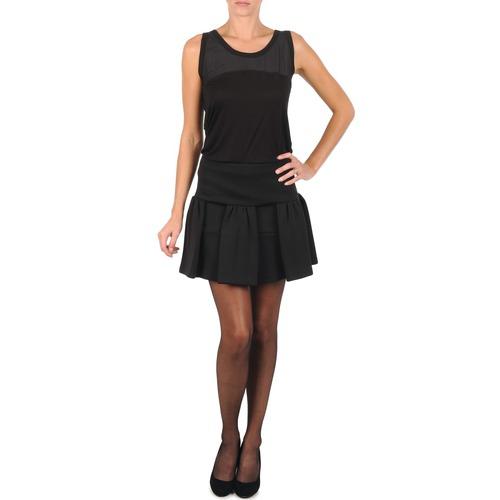 Manoush JUPE MERINGUE Negro - Envío gratis   ! - textil Faldas Mujer