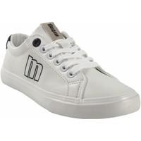 Zapatos Mujer Zapatillas bajas MTNG Zapato señora MUSTANG 60142 bl.neg Blanco