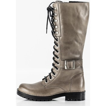 Zapatos Mujer Botas Chacal 5673 Beige
