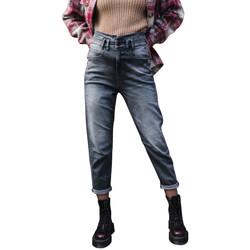 textil Mujer Vaqueros slim Freeman T.Porter Freeman Jeans Lara FOGO F2023 Gris Gris