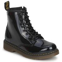 Zapatos Niños Botas de caña baja Dr Martens DELANEY Negro