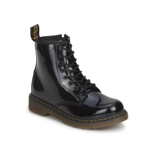 Zapatos Niña Botas de caña baja Dr Martens DELANEY Negro