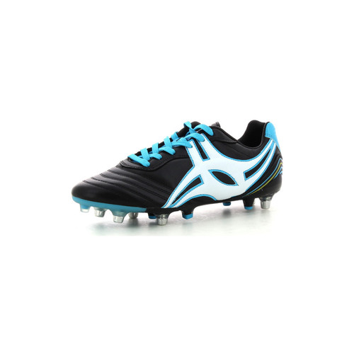 Zapatos Hombre Rugby Gilbert Jink Pro 6 Stud Negro