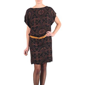 textil Mujer vestidos cortos Antik Batik QUINN Negro