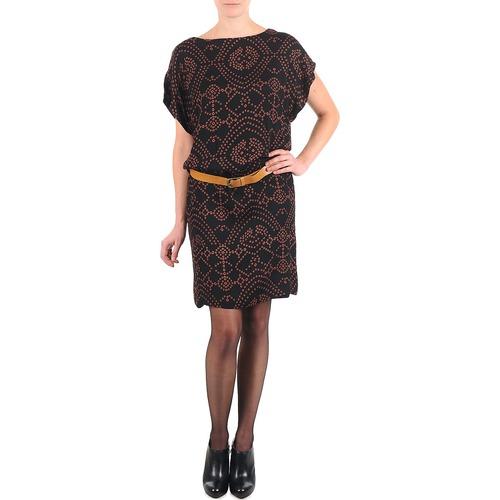 Quinn Antik Mujer Vestidos Cortos Negro Batik Textil dxBCoWer