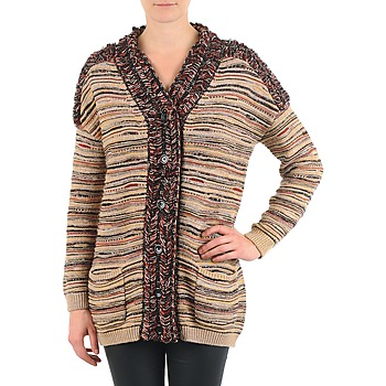 textil Mujer Chaquetas de punto Antik Batik WAYNE Beige