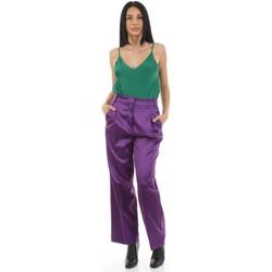 textil Mujer Pantalón de traje Vicolo TX0372 Violeta